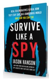 'Survive Like a Spy' book