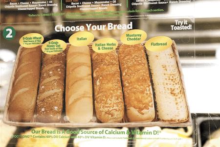subway sandwich image